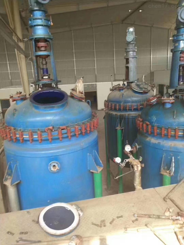 回收5吨搪瓷反应釜二手5吨搪瓷反应釜回收得陇望蜀