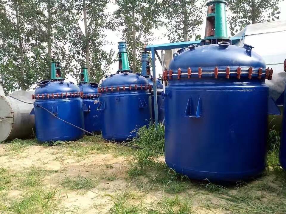 各种搪瓷反应釜回收企业