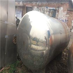 销售二手8吨乳品发酵罐
