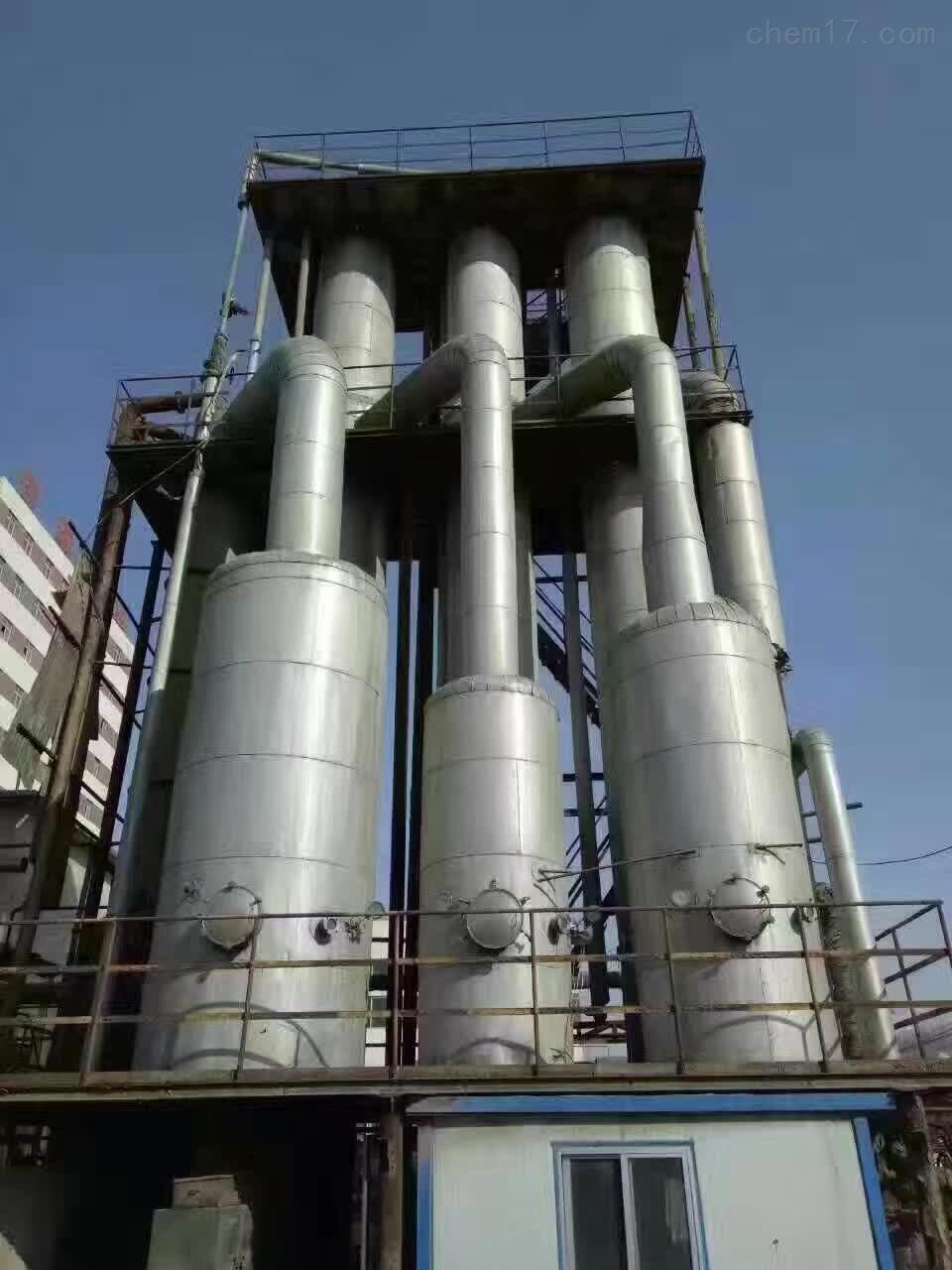 回收二手三效钛材强制循环蒸发器、降膜价格