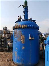 低价出售闲置二手5吨搪瓷反应釜