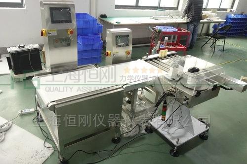 高速称重计价打印贴标机 自动贴标输送秤