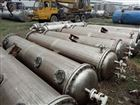 长沙出售二手120平方304材质不锈钢冷凝器