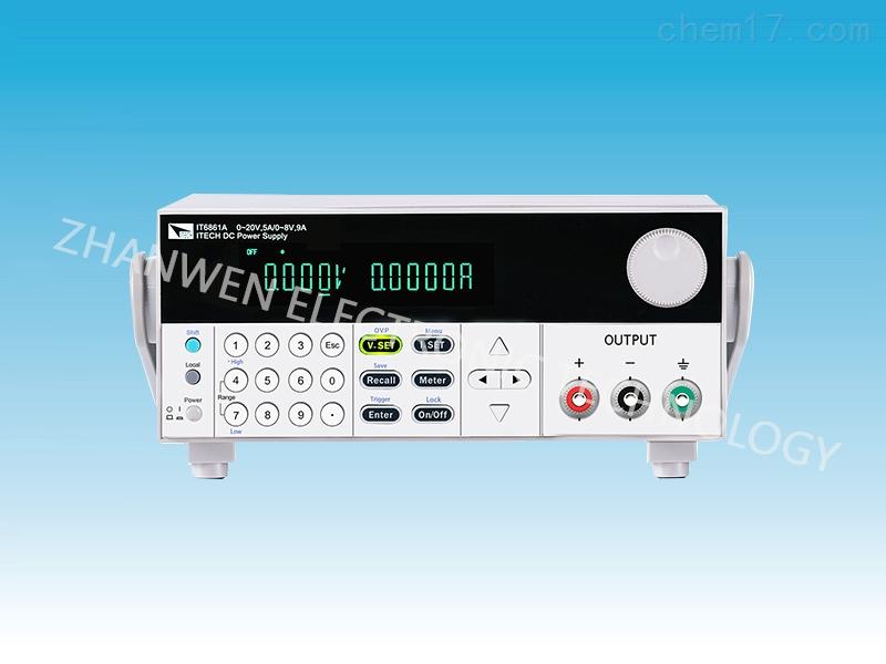 艾德克斯ITECH双范围直流电源IT6800A/B系列