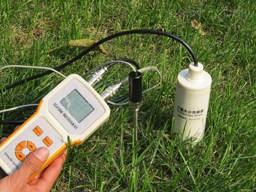 土壤温湿度计 TDR-200土壤水分温度速测仪