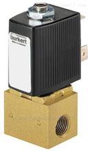 德国BURKERT直动式2位3通塞电磁阀6012类型