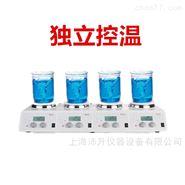 大龙LCD数控加热型实验室四通道磁力搅拌器