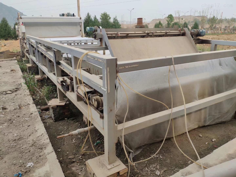 回收带式压滤机回收带宽2.5米长5.8米带式压滤机价格亮眼