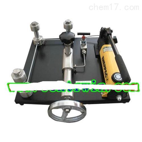ZH8381台式压力泵(油压)