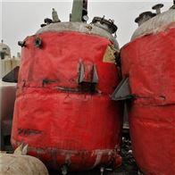 新到2台二手5吨电加热不锈钢反应釜