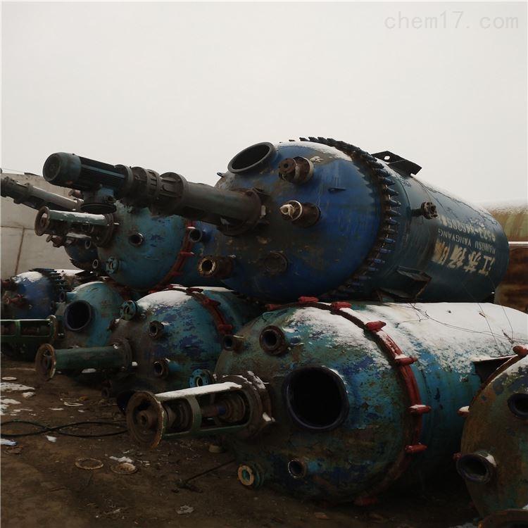 供应二手3000L电加热搪瓷反应釜
