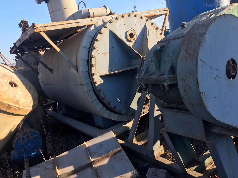 回收3吨耙式干燥机回收二手3吨耙式干燥机有的请联系