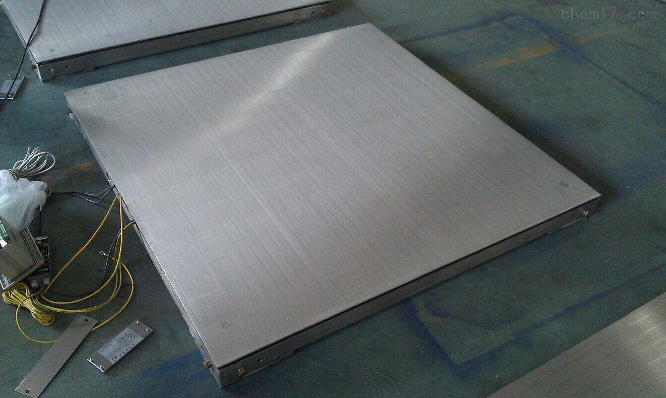 3吨带打印功能平台电子秤(304不锈钢材质)