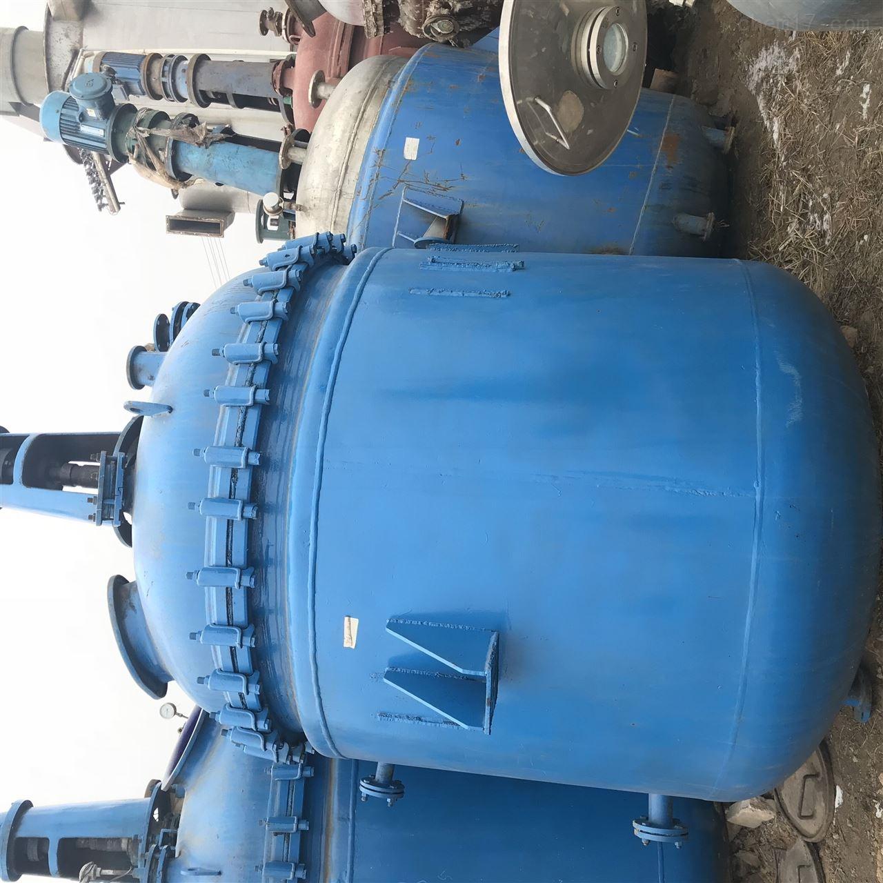 梁山二手1吨搪瓷反应釜供应