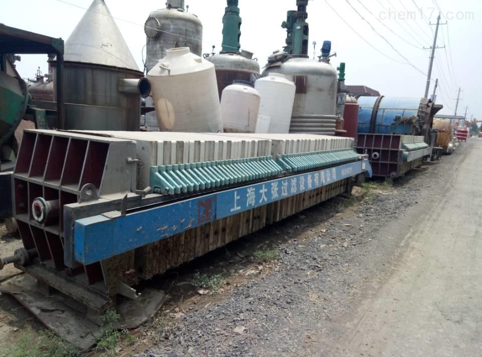 回收二手120平方污泥压滤机