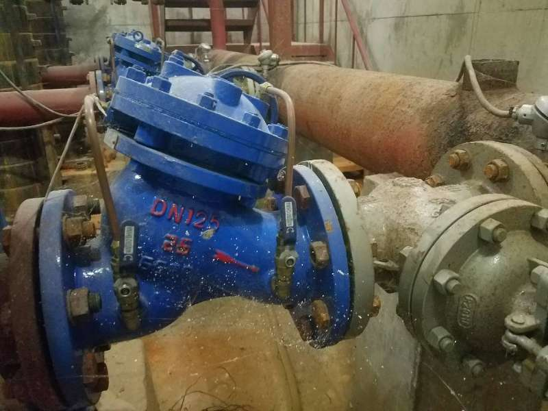 给水排水多功能水泵控制阀应用技术规程