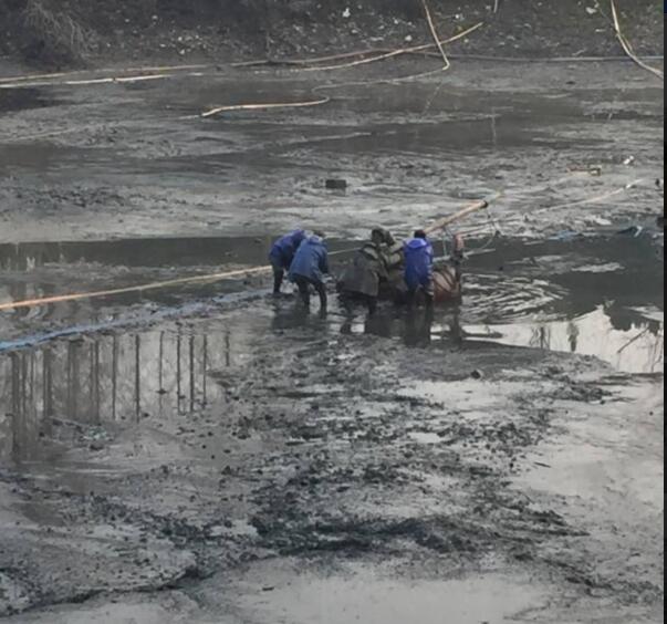 芜湖河道清理公司活性淤泥固化_河道清理-江苏海龙水