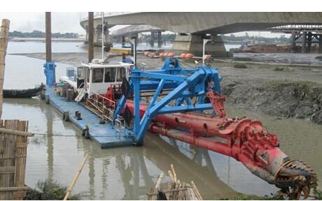 拼装绞吸船清淤-巢湖水下清理公司_水下清理-江苏海龙