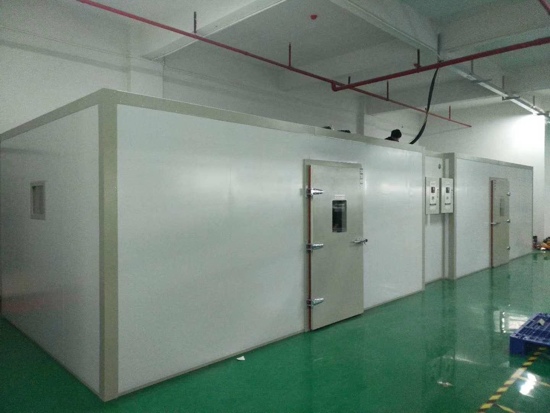 北京普桑达步入式老化试验房走进东莞某企业