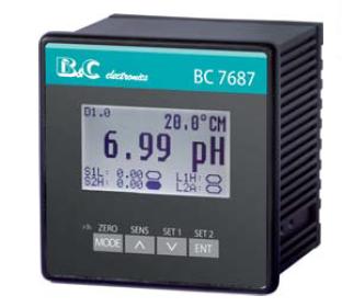 BC7687多参数控制器