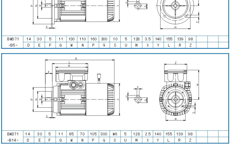 bmd7132电机,紫光刹车电机
