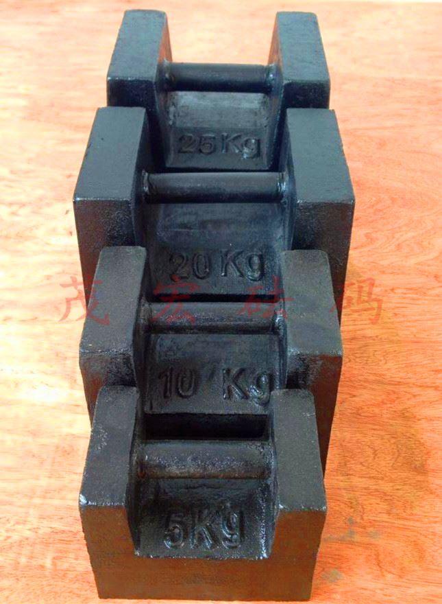 25kg铸铁砝码