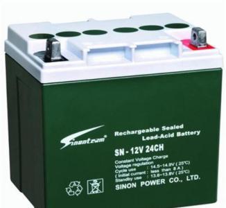 电源设备 电池 赛能蓄电池12v系列sn-12-24  *紧急设备:应急灯,手电筒图片