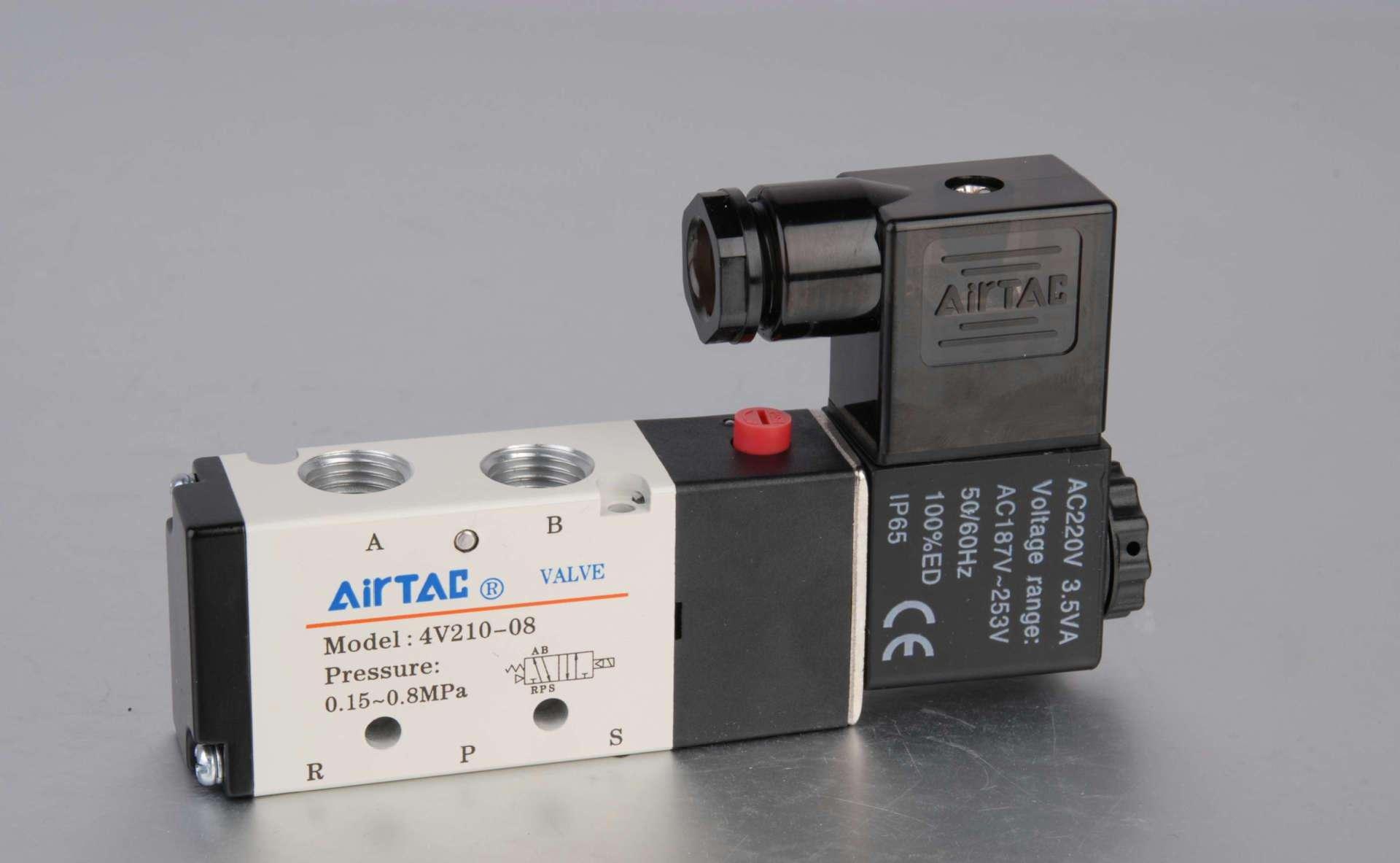 特价亚德客电磁阀出售4v210-08图片