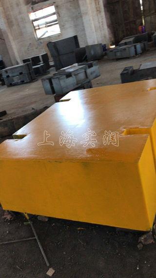 8吨铸铁配重块