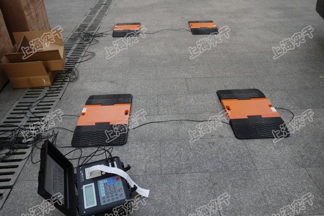 超载检测便携式轴重秤
