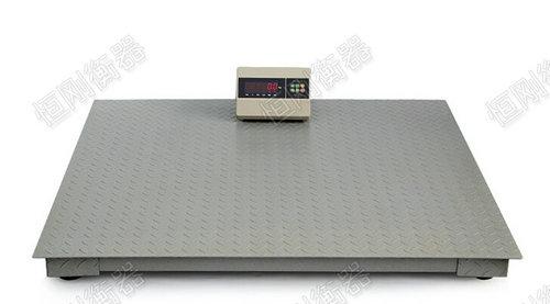 单层电子地磅