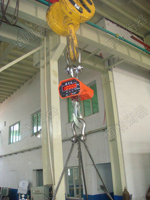 防撞吊钩电子秤