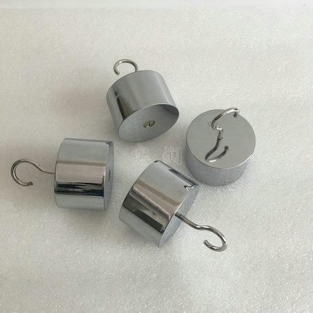 304无磁不锈钢单钩法码