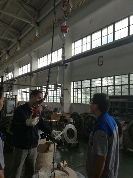 电子吊秤使用维护细则-上海本熙科技