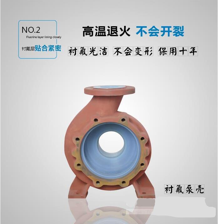 IHF氟塑料化工泵衬氟泵壳