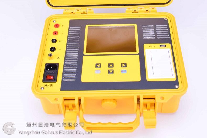 GHR5410单通道直流电阻测试仪产品实拍2